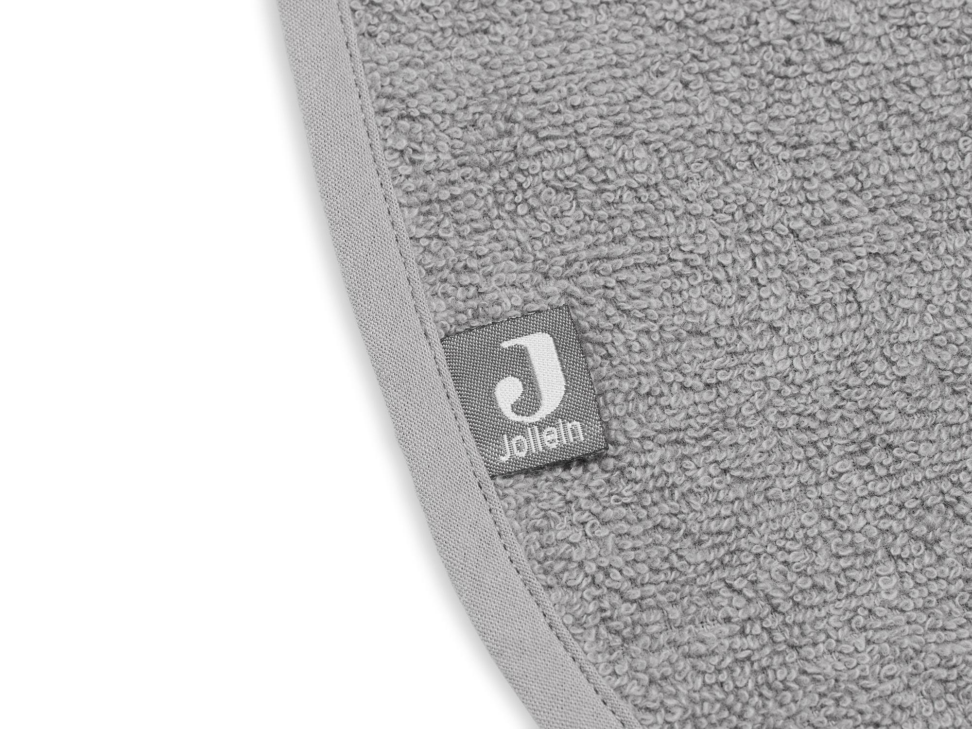 Afbeelding Jollein slab badstof I storm grey