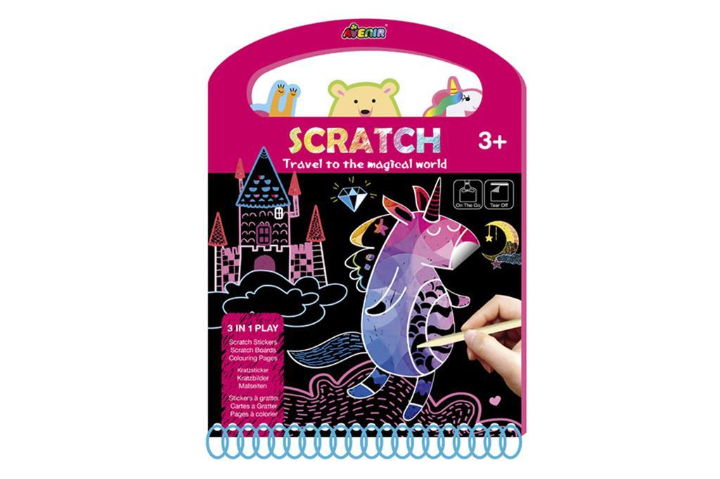 Afbeelding Avenir Scratch I Magische wereld