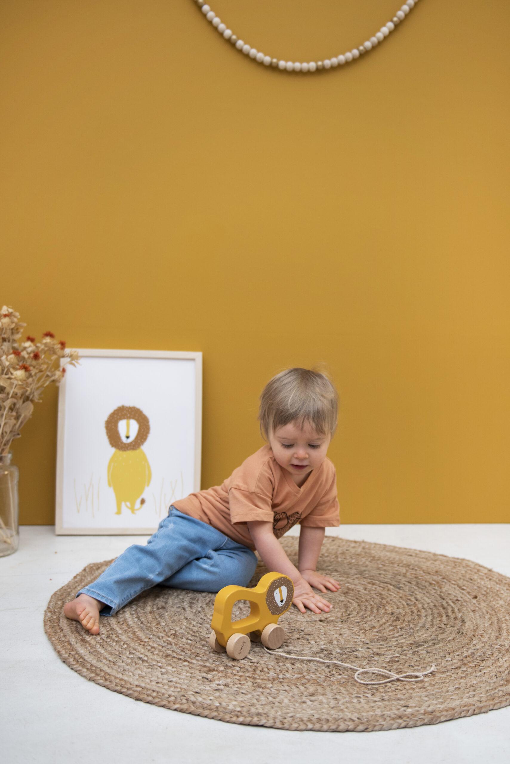Afbeelding Trixie Houten trekspeeltje I Mr Lion