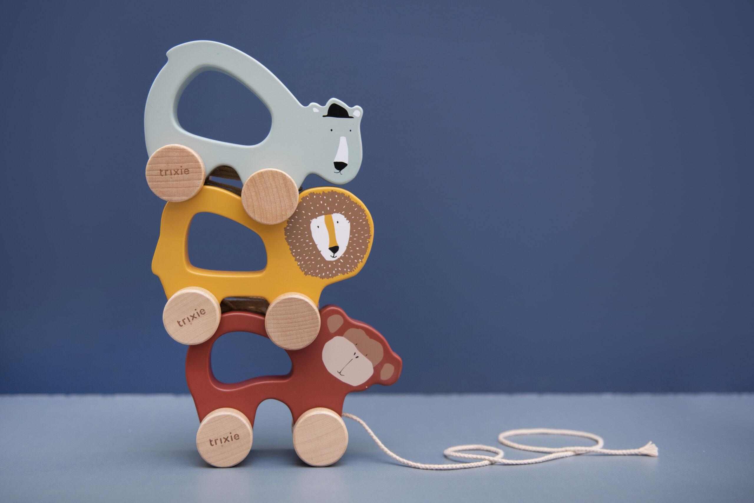 Afbeelding Trixie Houten trekspeeltje I Mr Polar Bear