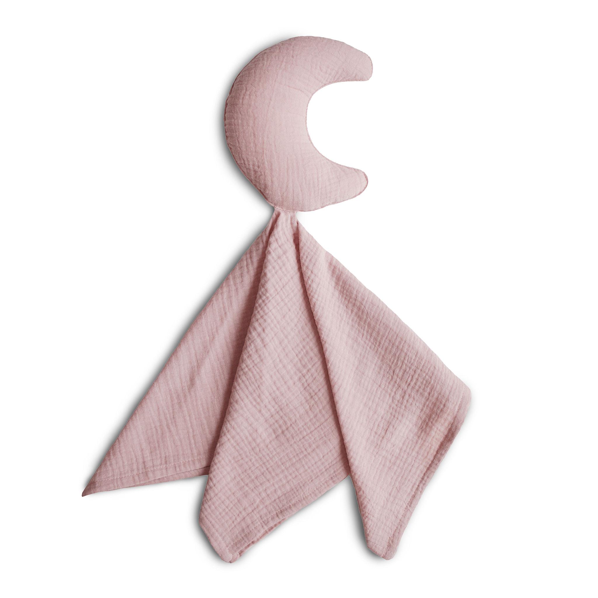 Afbeelding Mushie Lovey Blanket I Moon Primrose