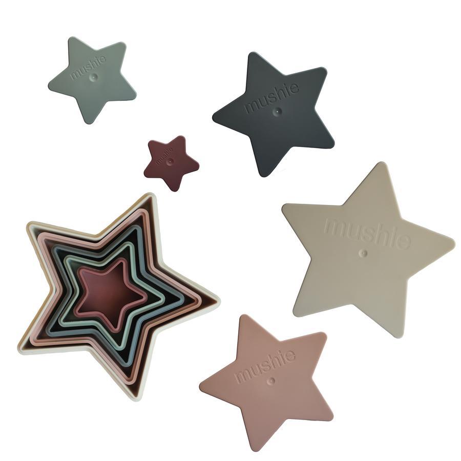 Afbeelding Mushie Stapelbekers I Nesting Star