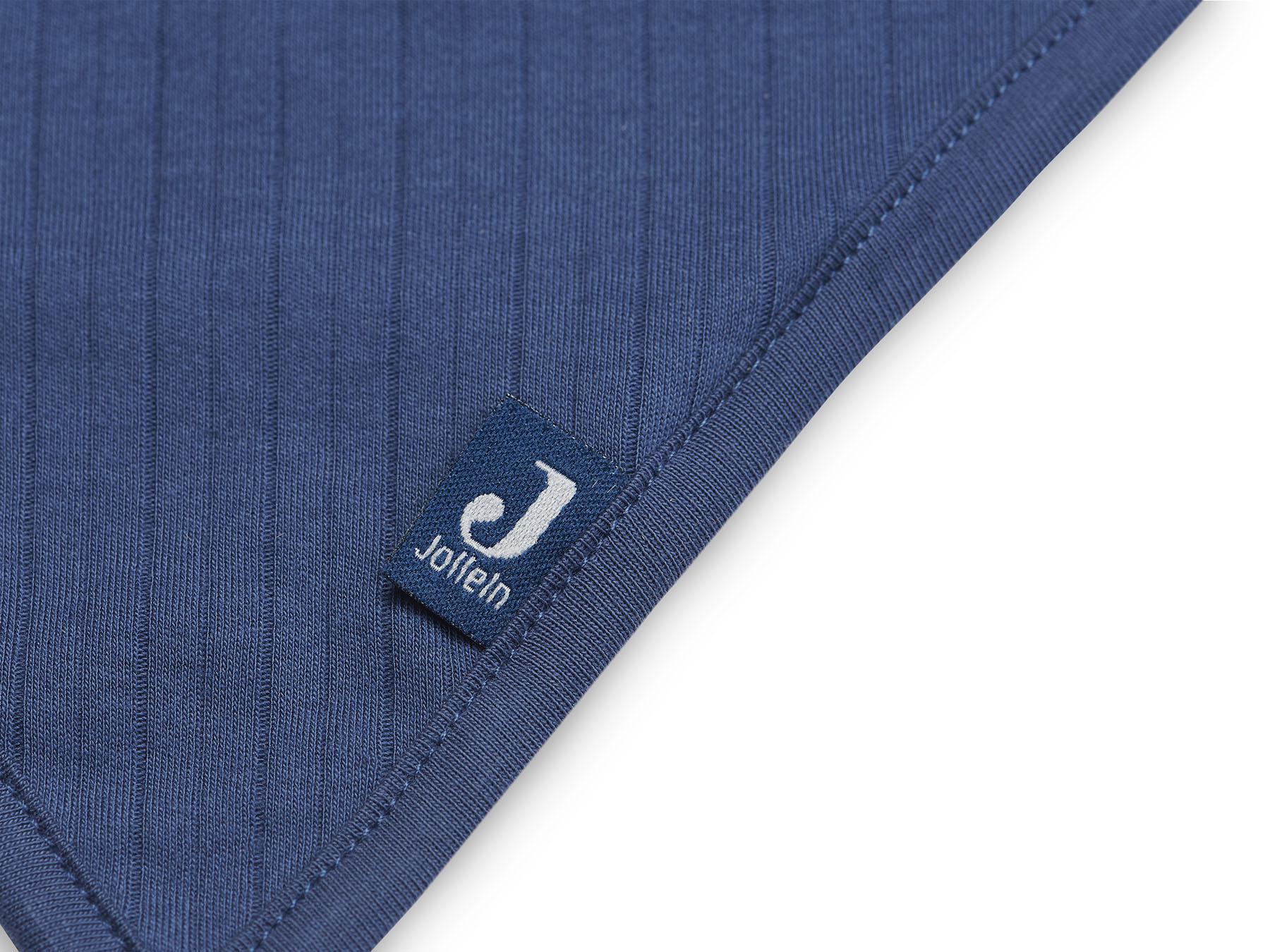 Afbeelding Jollein Slab Bandana Basic Stripe I jeans blue (2pack)