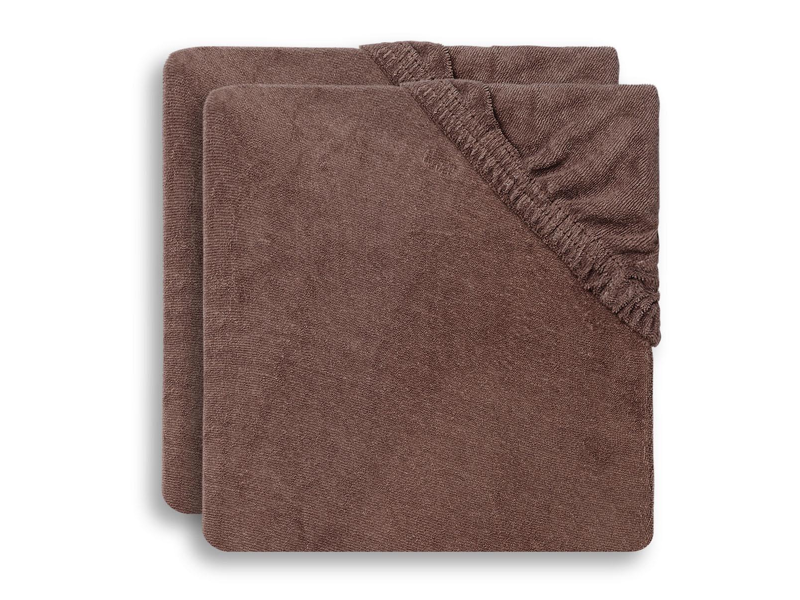 Afbeelding Jollein Aankleedkussenhoes 50x70cm I Chestnut (2pack)
