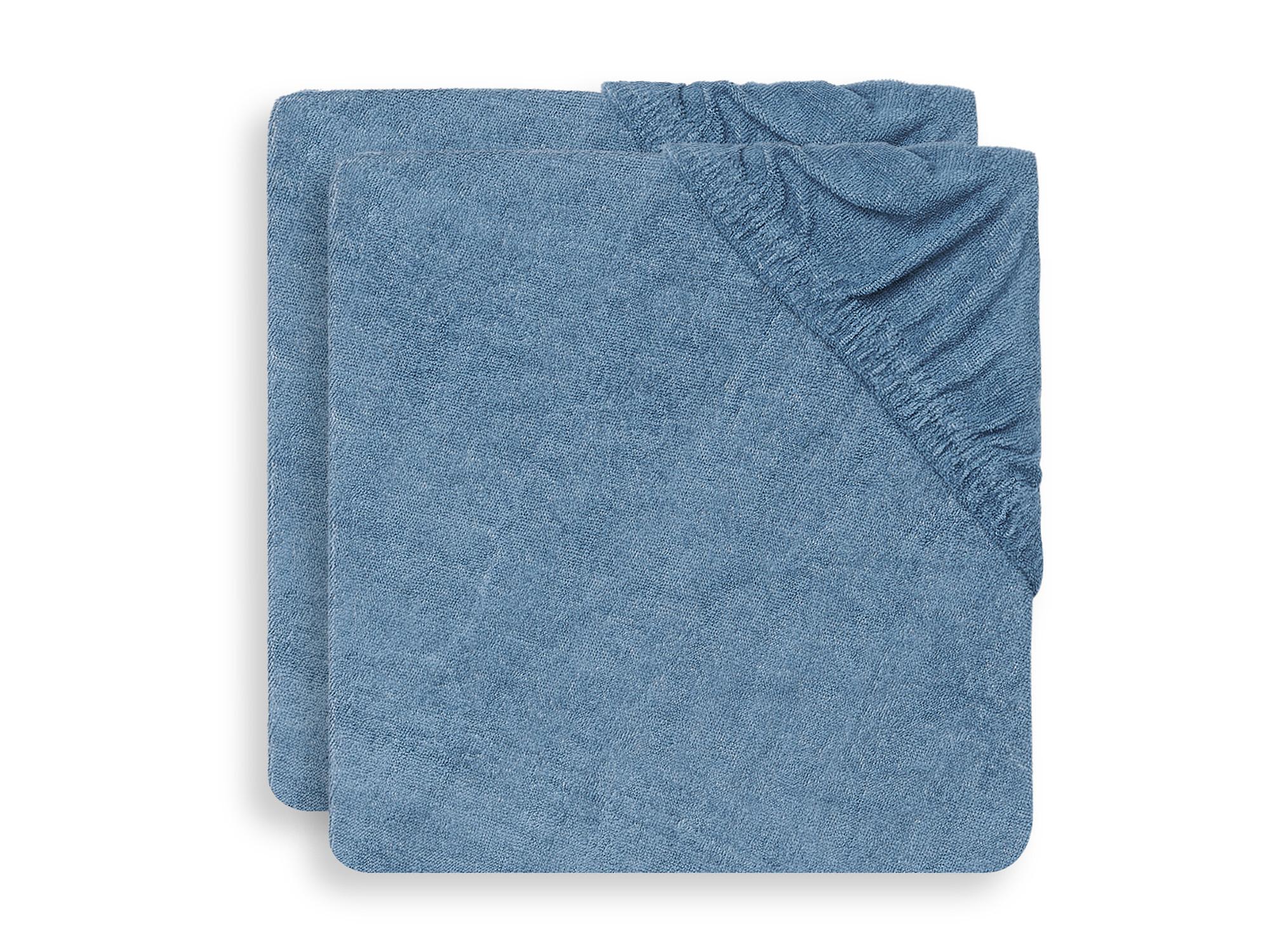 Afbeelding Jollein Aankleedkussenhoes 50x70cm I Jeans Blue (2pack)