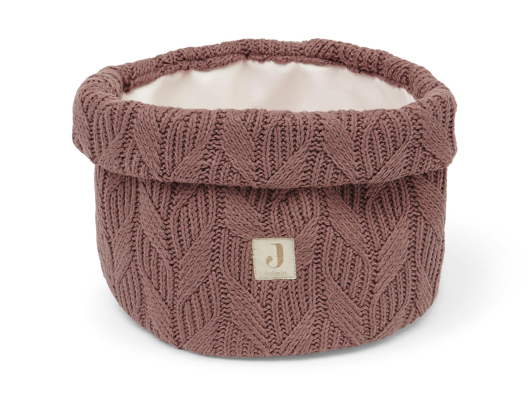 Afbeelding Jollein Commodemandje Spring Knit I Chestnut