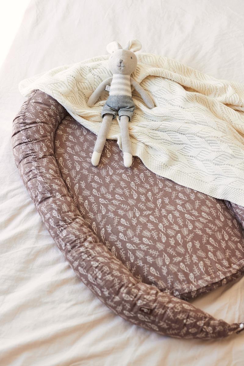 Afbeelding Jollein Deken wieg 75x100cm Spring Knit I Ivory