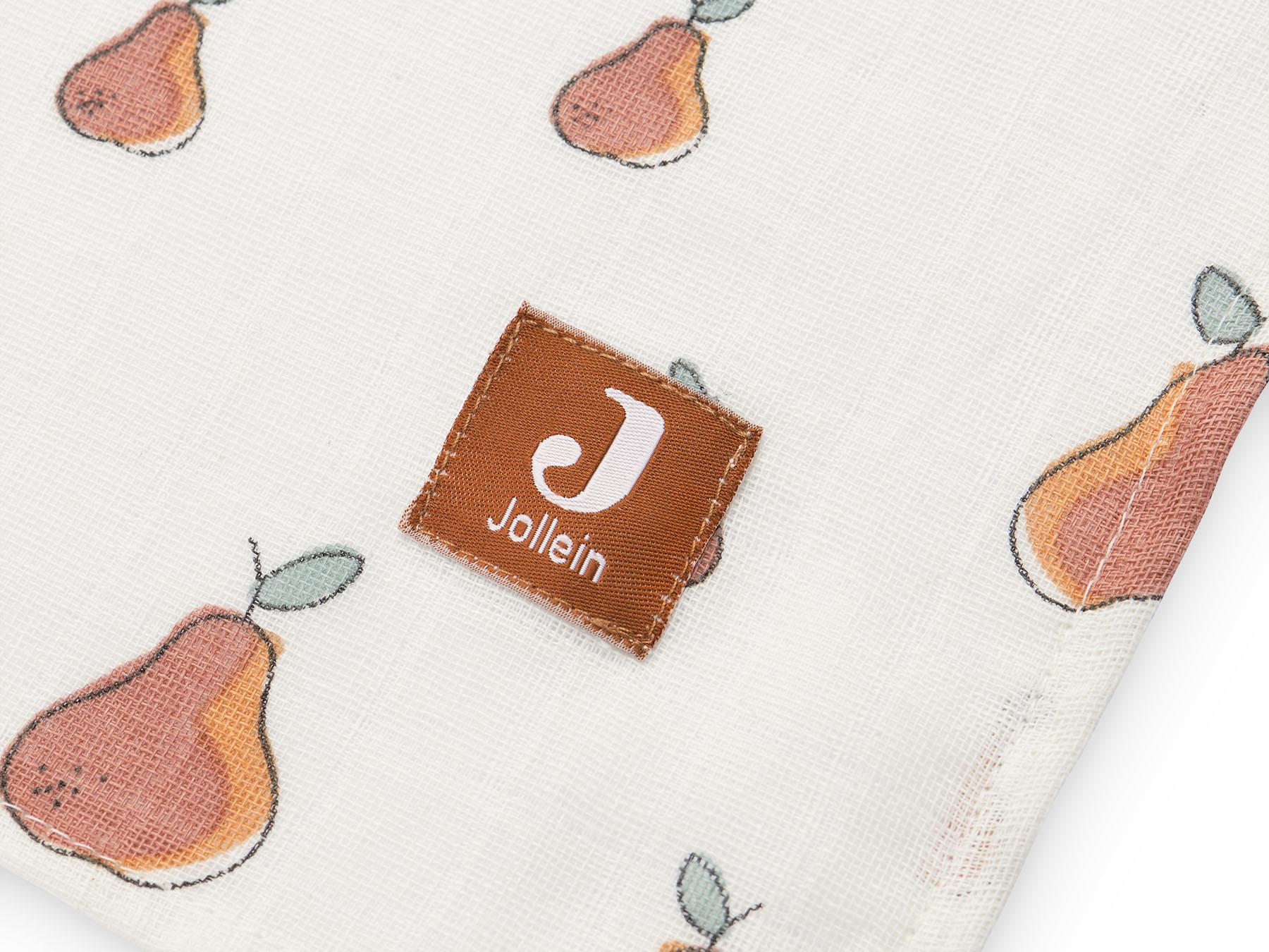 Afbeelding Jollein Hydrofiel multidoek large 115x115cm I Pear (2 pack)