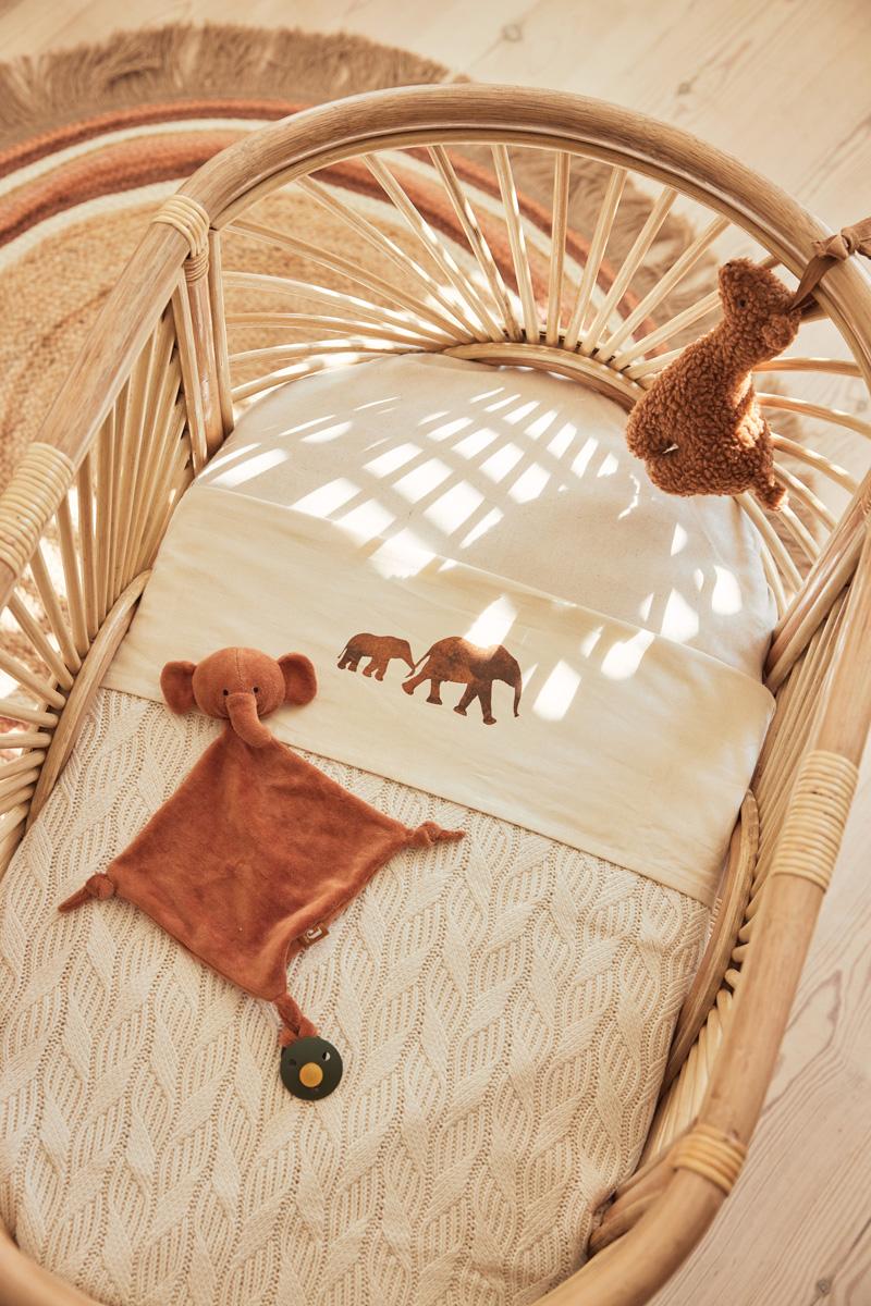 Afbeelding Jollein Knuffeldoekje Elephant I Caramel