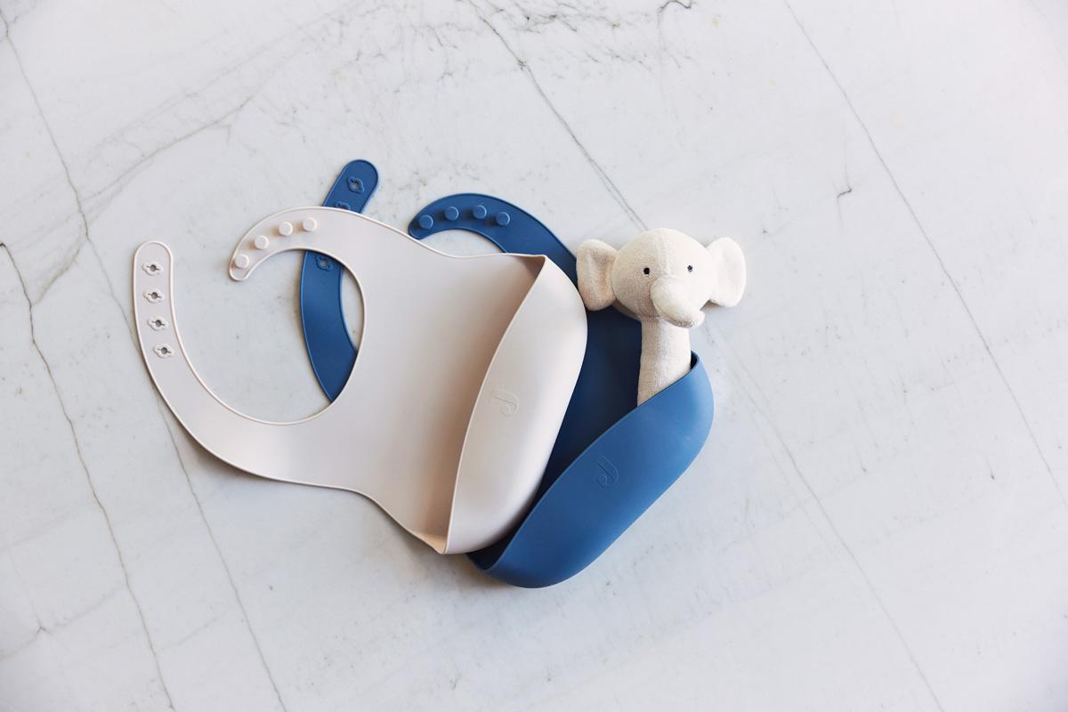 Afbeelding Jollein Siliconen slab I Jeans Blue