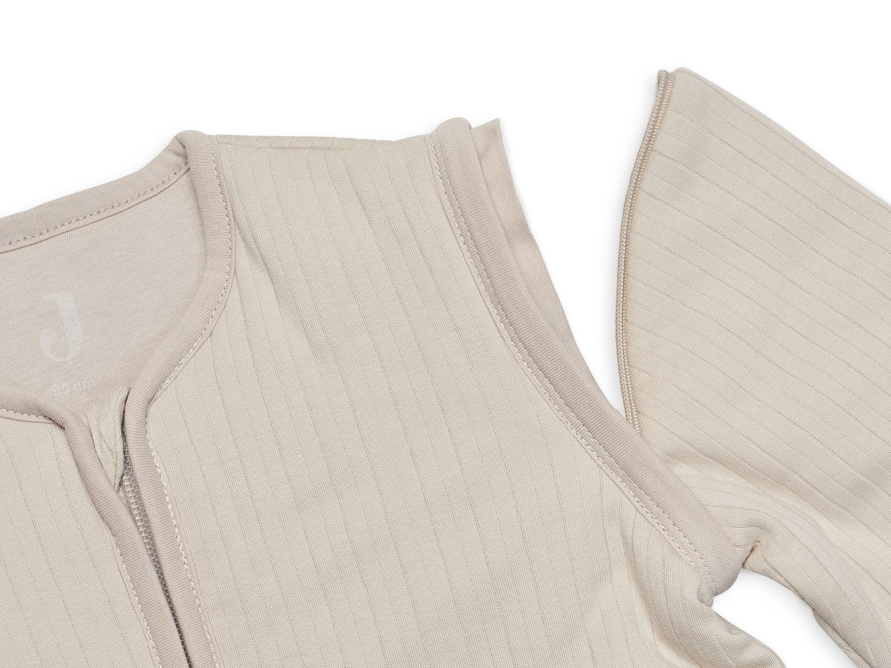 Afbeelding Jollein slaapzak 110cm Basic Stripe I Nougat