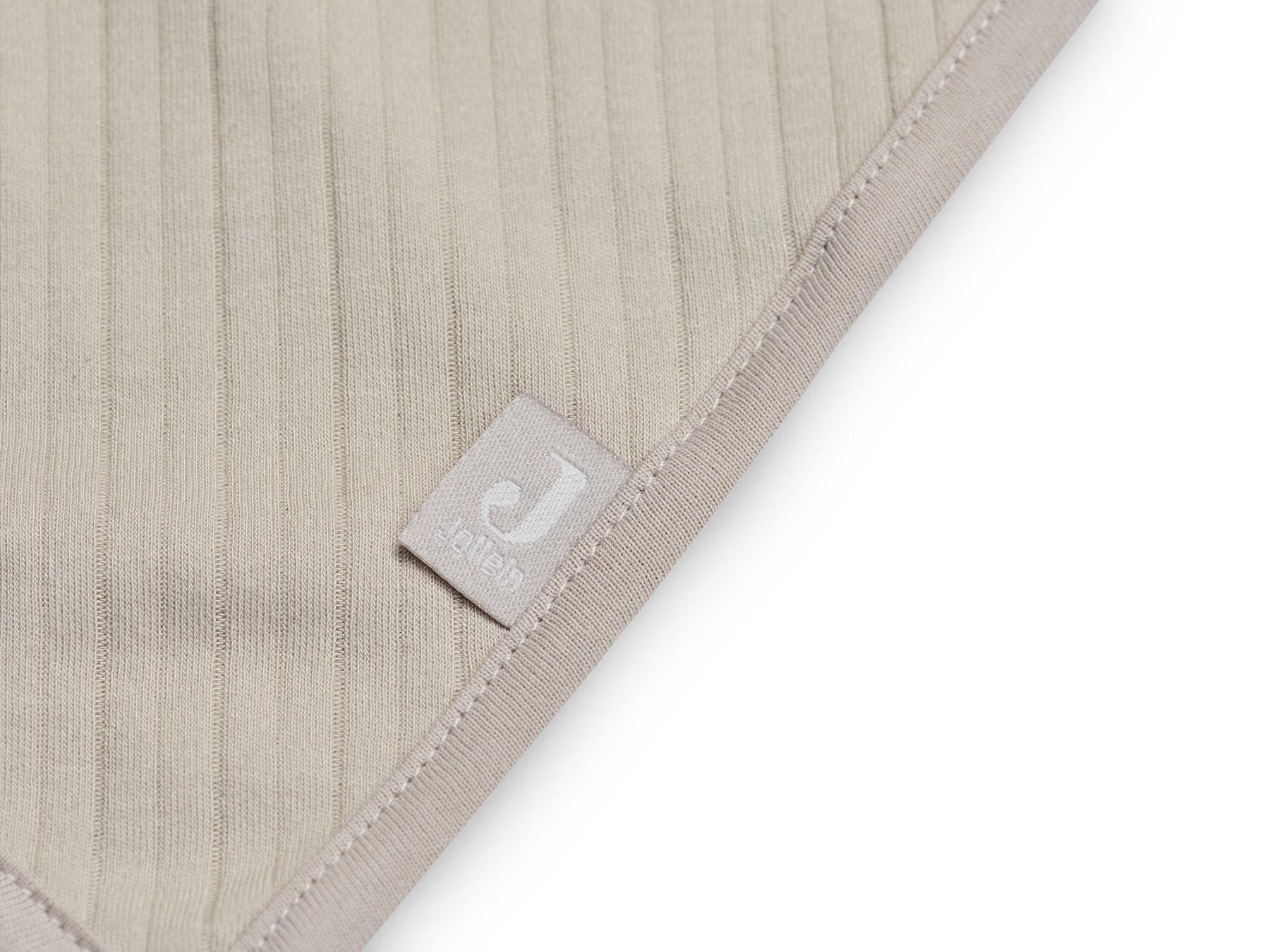 Afbeelding Jollein Slab Bandana Basic Stripe I Nougat (2pack)