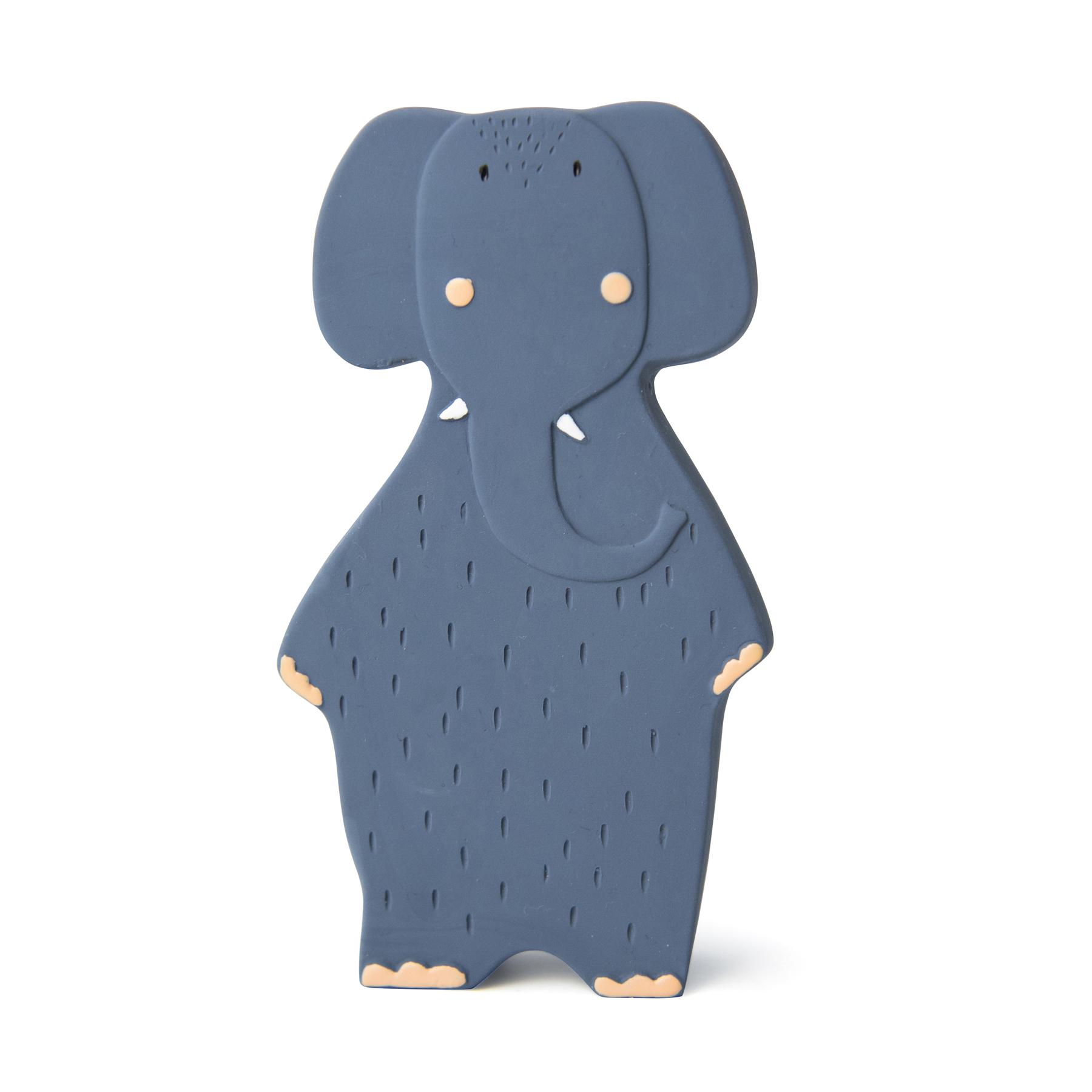 Afbeelding Trixie Bijtspeeltje Natuurrubber I Mrs Elephant