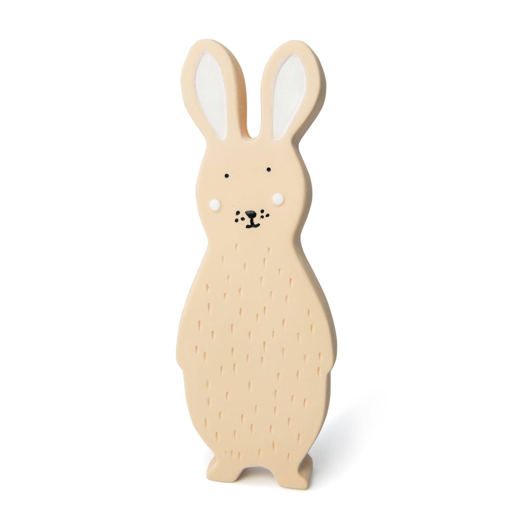 Afbeelding Trixie Bijtspeeltje Natuurrubber I Mrs Rabbit