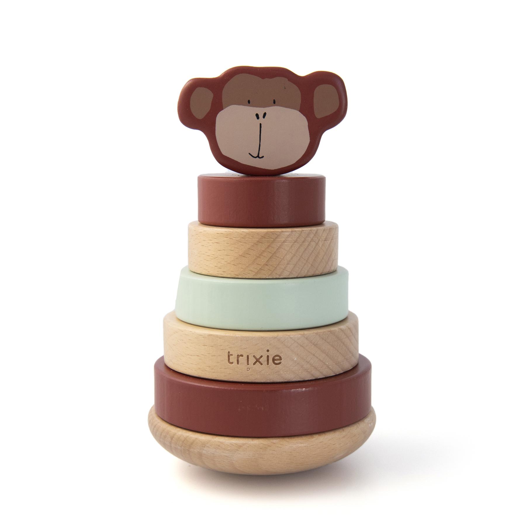 Afbeelding Trixie Houten Stapeltoren I Mr. Monkey