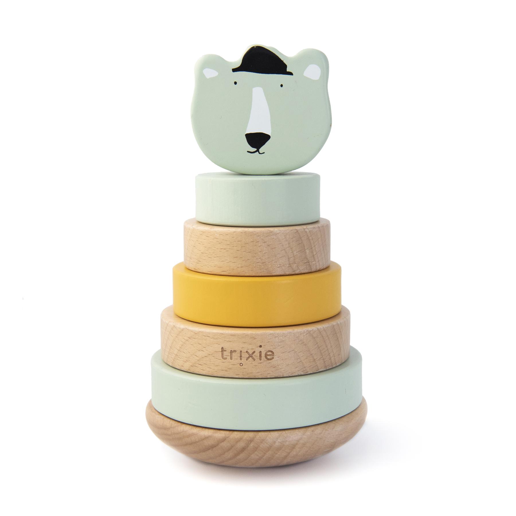 Afbeelding Trixie Houten Stapeltoren I Mr Polar Bear