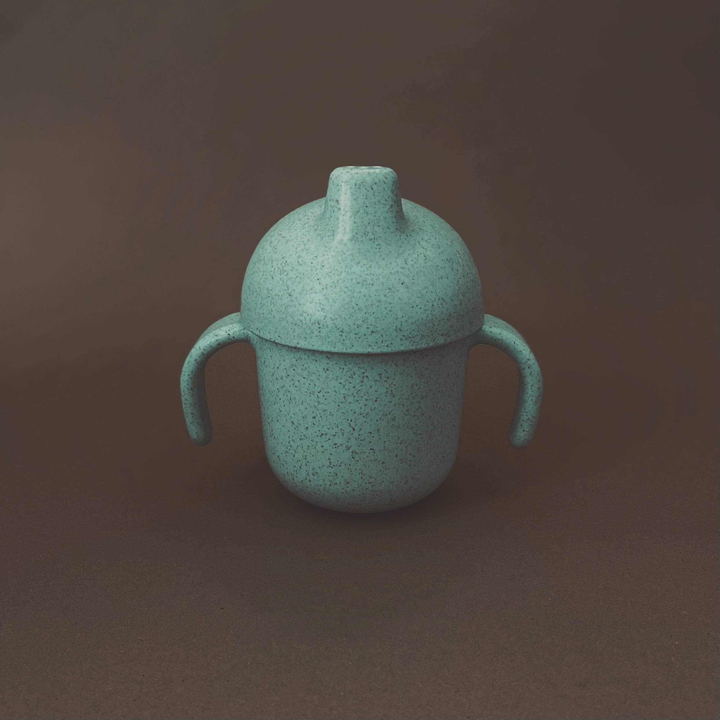 Afbeelding Speen & Koord Sippy cups I Mint