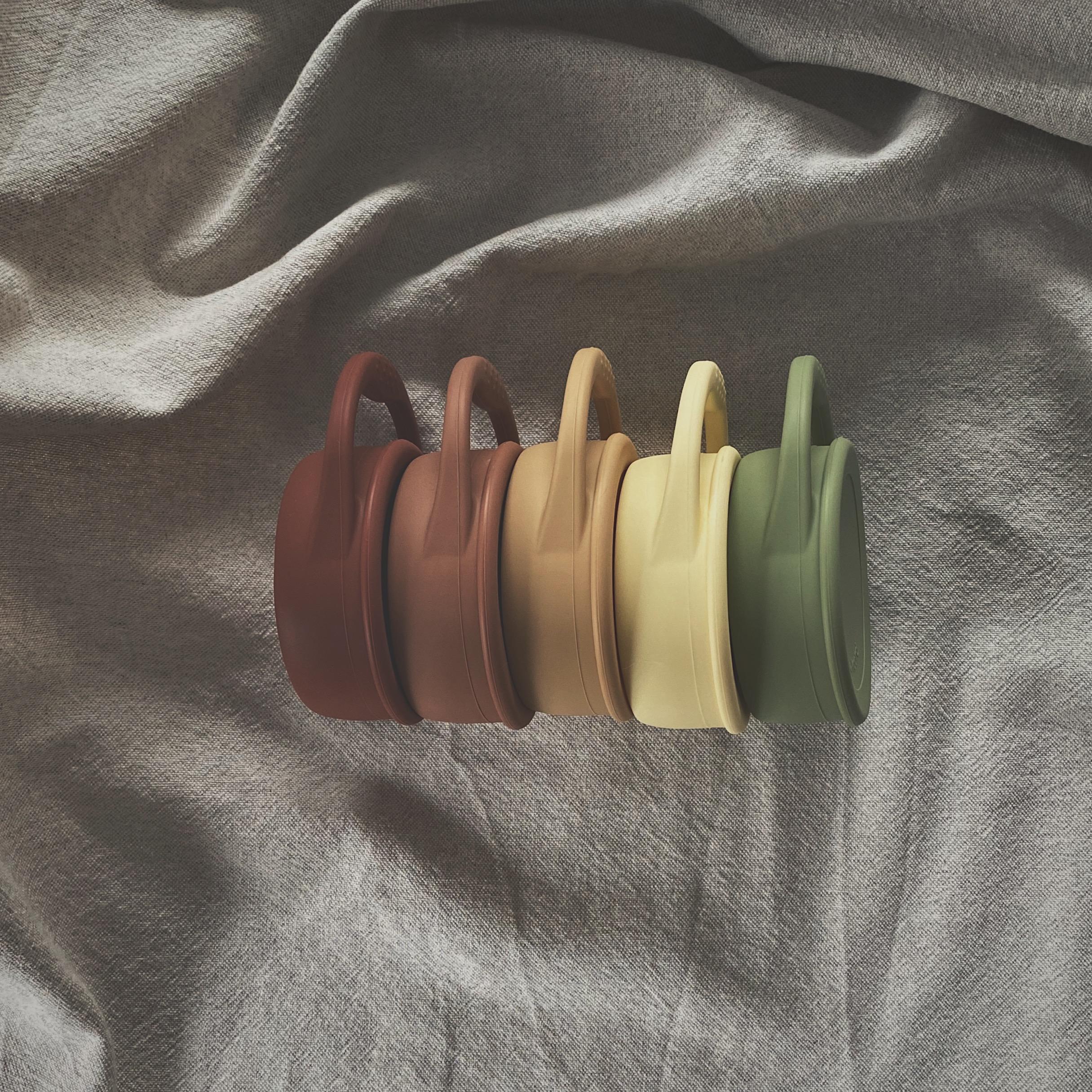Afbeelding Speen & Koord Snack cups I Eagle