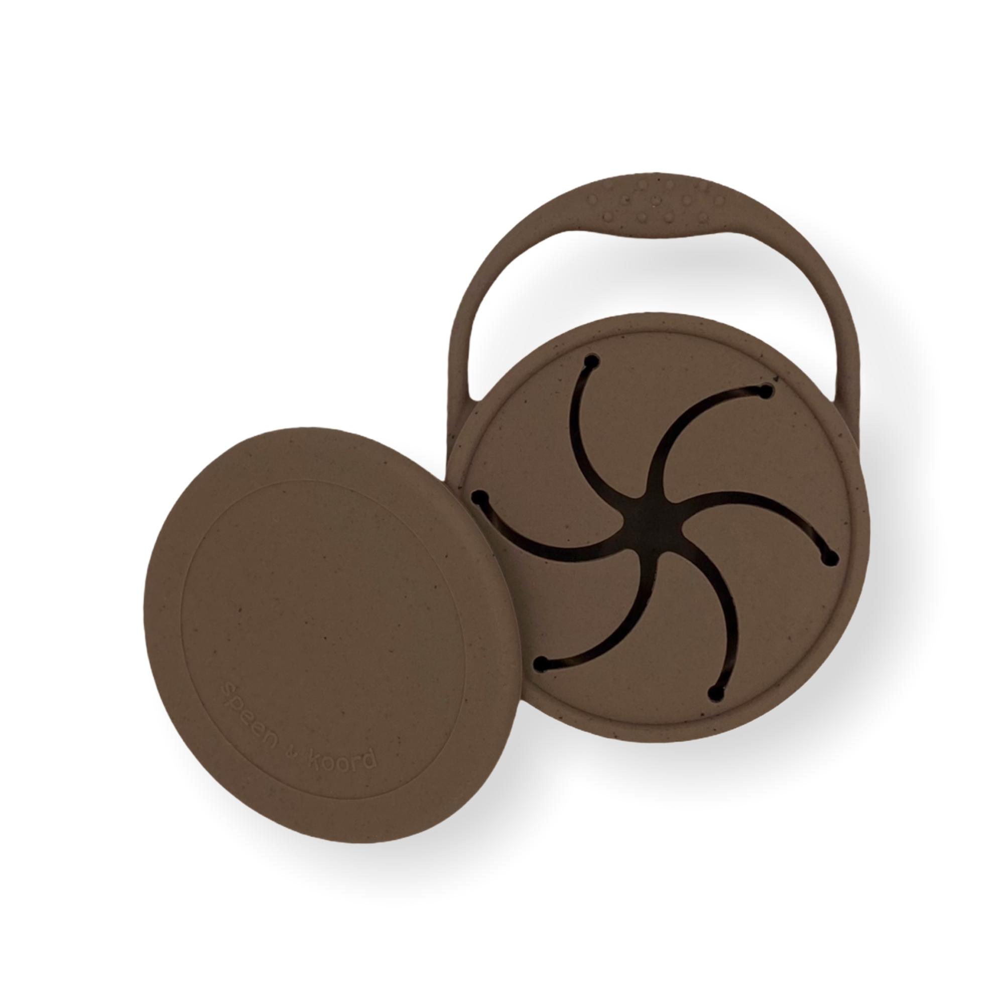 Afbeelding Speen & Koord Snack cups I Speckled Coffee